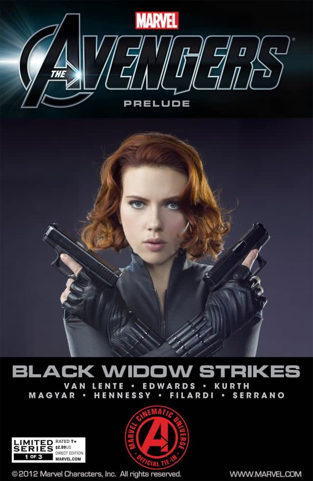 Marvel's the Avengers: Black Widow Strikes #1 (of 3)
