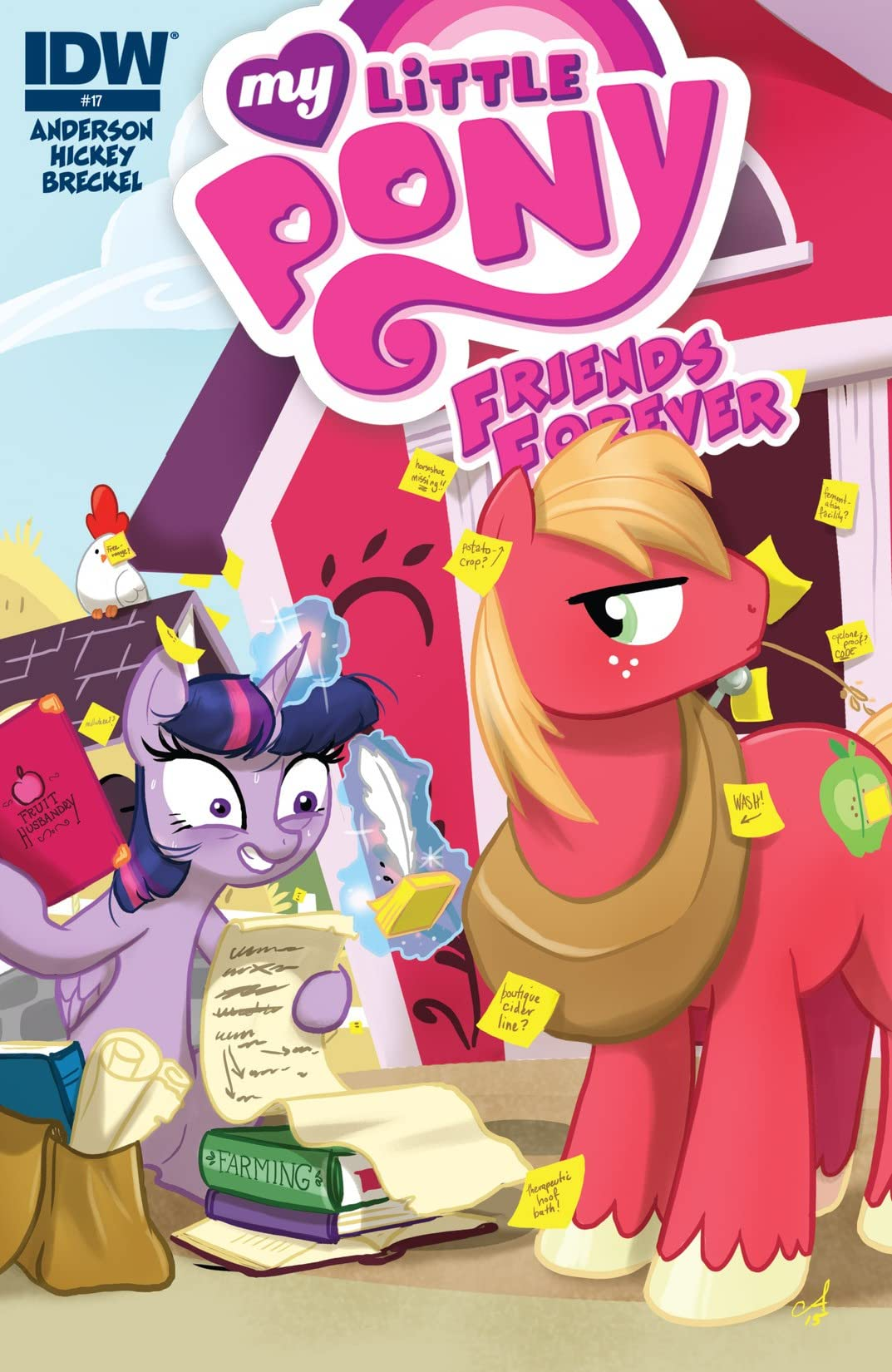 My Little Pony: Friends Forever #17