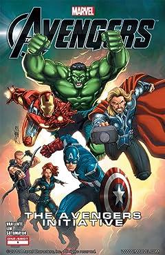 Marvel's The Avengers: The Avengers Initiative (2012) #1