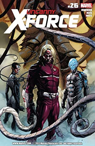 Uncanny X-Force (2010-2012) No.26