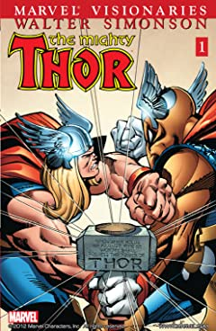Thor Visionaries: Walter Simonson Vol. 1