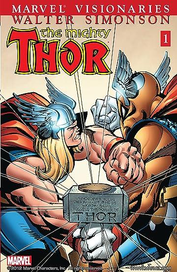 Thor Visionaries: Walter Simonson Tome 1