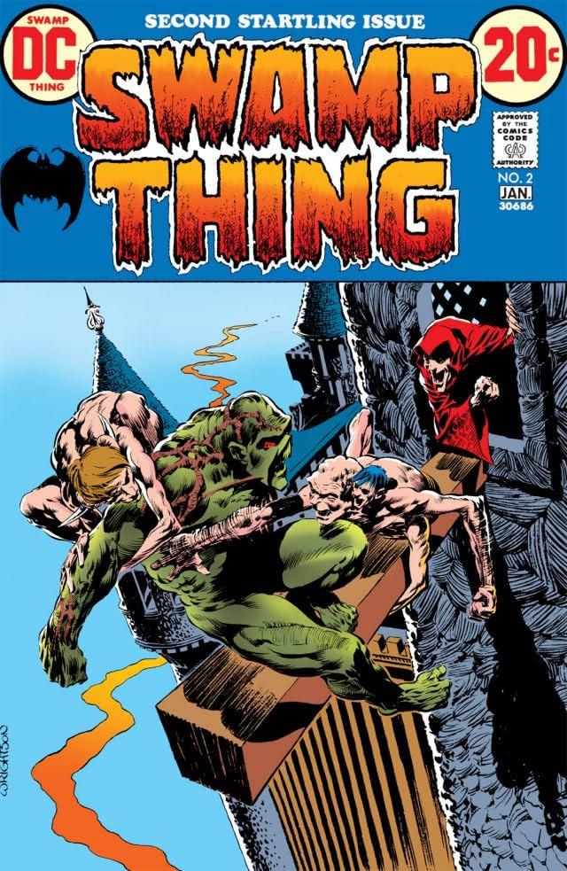 Swamp Thing (1972-1976) #2