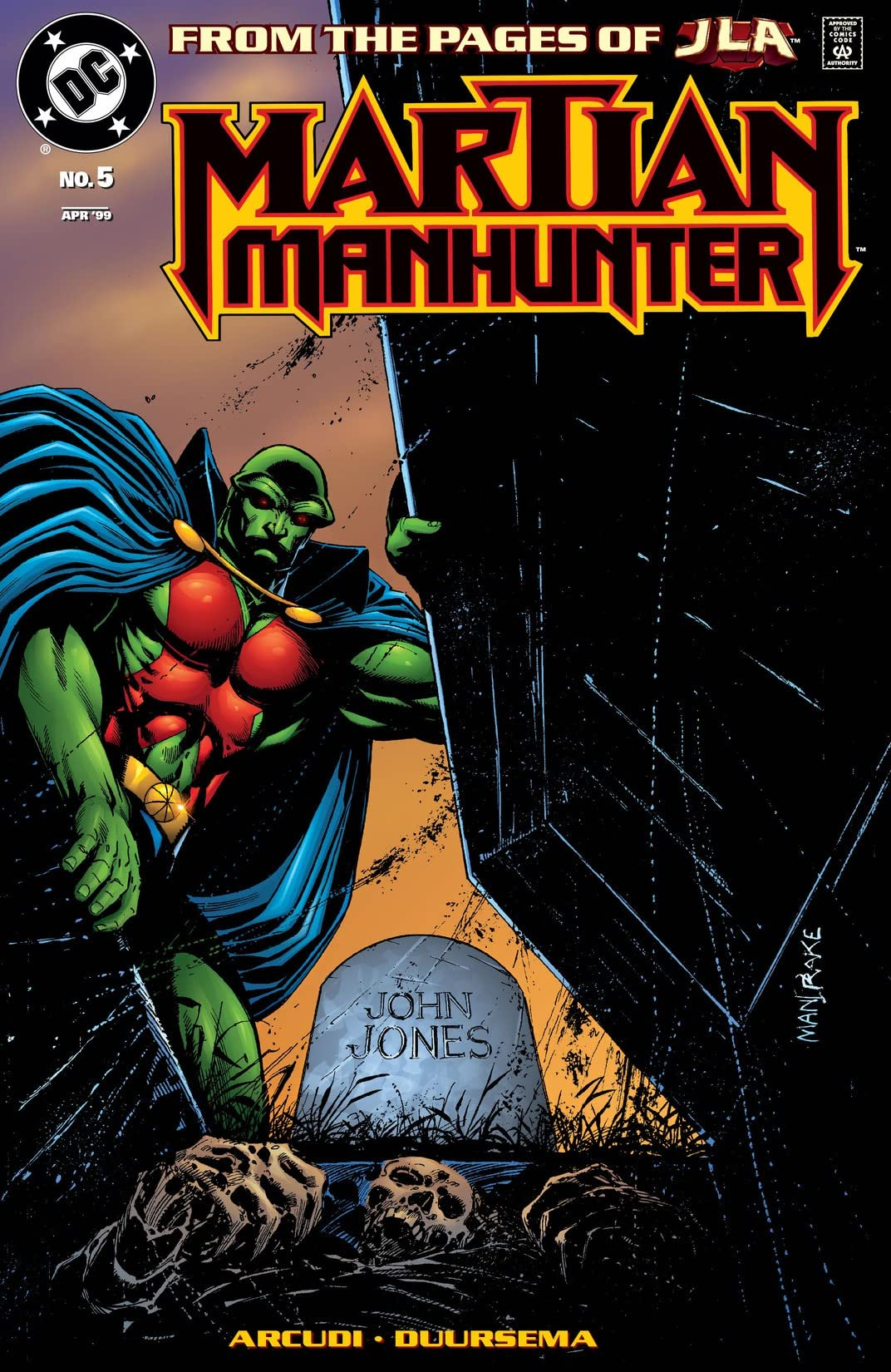 Martian Manhunter (1998-2001) #5