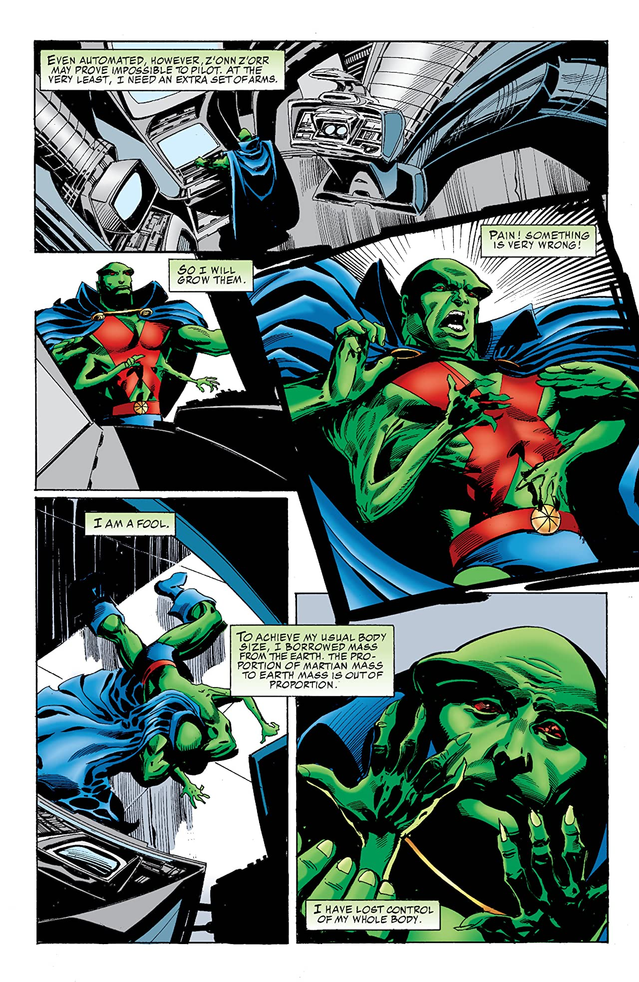 Martian Manhunter (1998-2001) #9