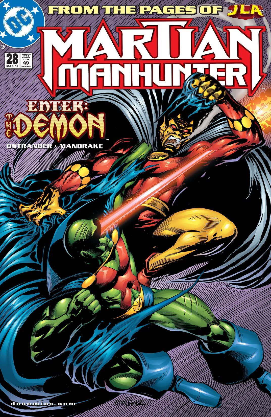 Martian Manhunter (1998-2001) #28