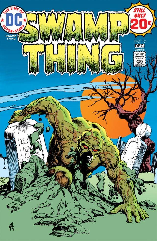 Swamp Thing (1972-1976) #13