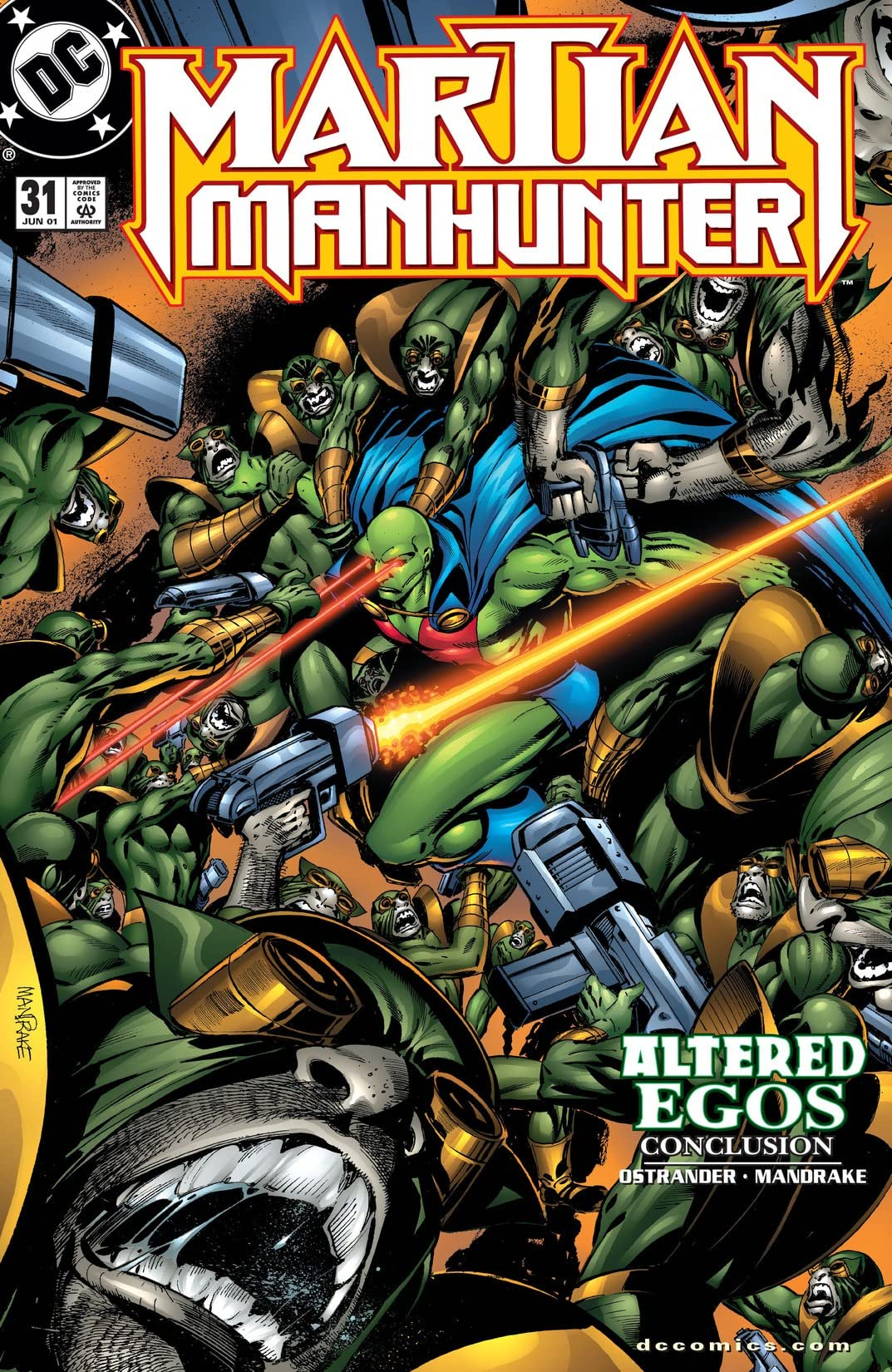 Martian Manhunter (1998-2001) #31