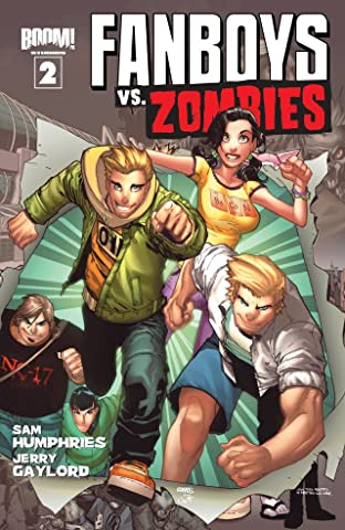 Fanboys vs. Zombies No.2