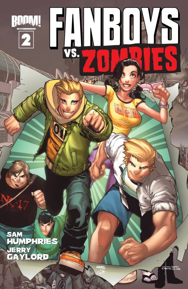 Fanboys vs. Zombies #2