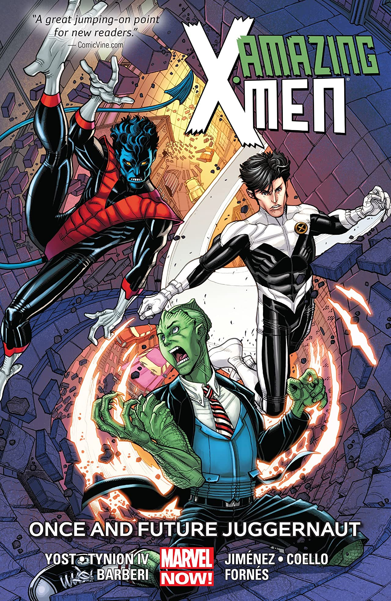 Amazing X-Men Vol. 3: Once and Future Juggernaut