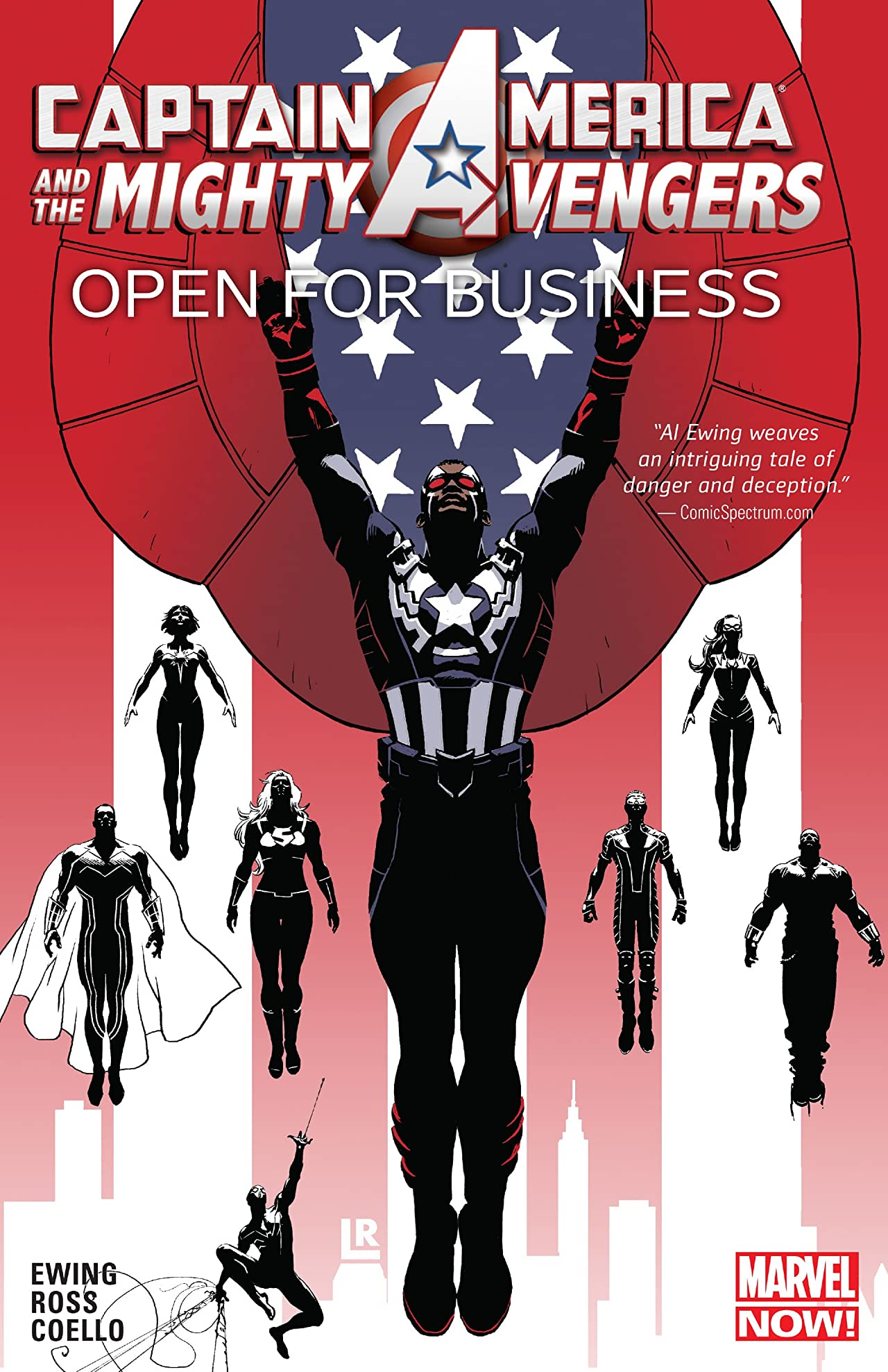 Captain America and the Mighty Avengers Tome 1: Open For Business