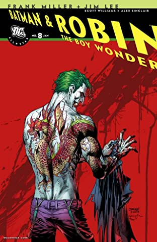 All-Star Batman and Robin, the Boy Wonder #8