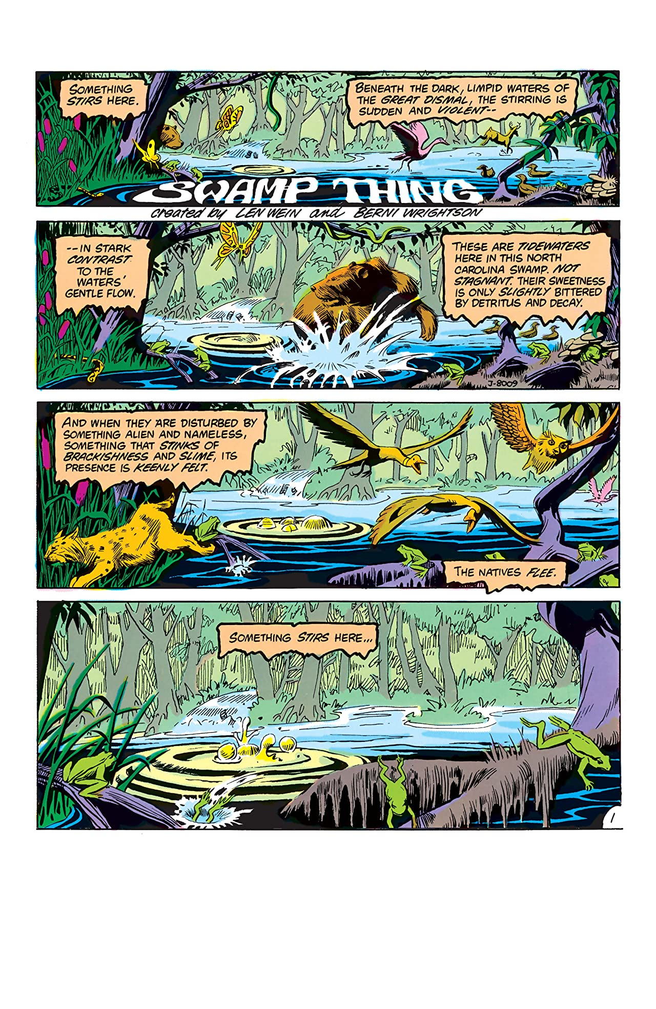 The Saga of the Swamp Thing (1982-1996) #1