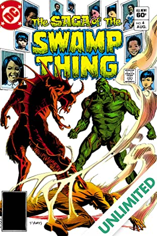 The Saga of the Swamp Thing (1982-1996) #4