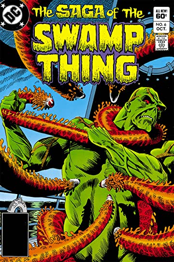 The Saga of the Swamp Thing (1982-1996) #6