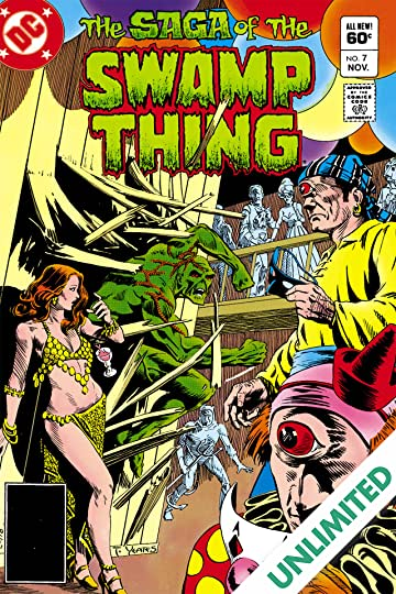 The Saga of the Swamp Thing (1982-1996) #7