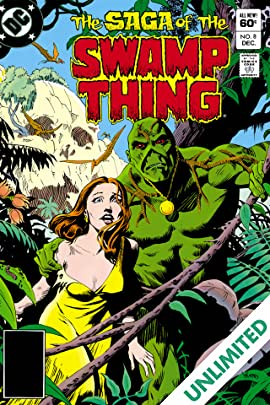 The Saga of the Swamp Thing (1982-1996) #8