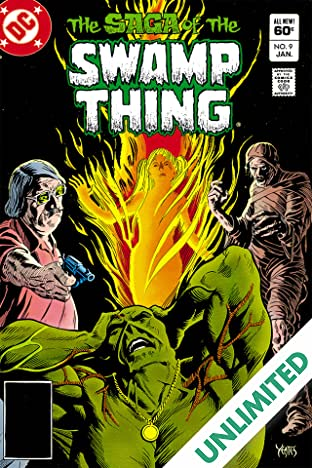 The Saga of the Swamp Thing (1982-1996) #9