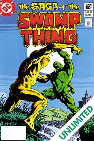 The Saga of the Swamp Thing (1982-1996) #11