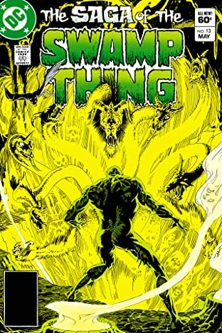 The Saga of the Swamp Thing (1982-1996) #13