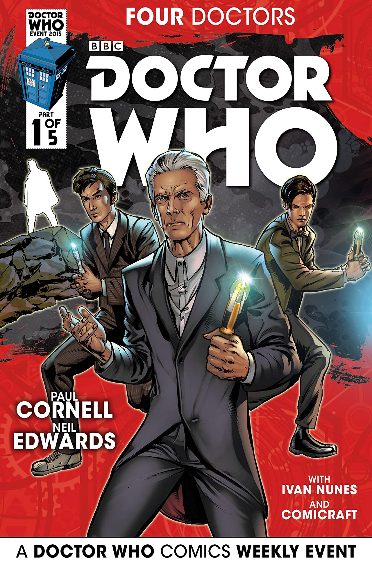 Doctor Who 2015 Event: The Four Doctors #1