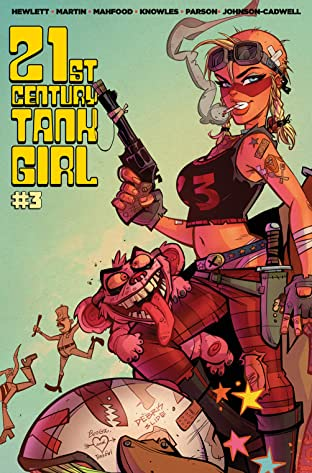 21st Century Tank Girl No.3