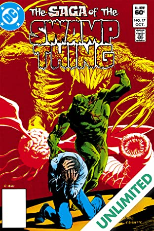 The Saga of the Swamp Thing (1982-1996) #17