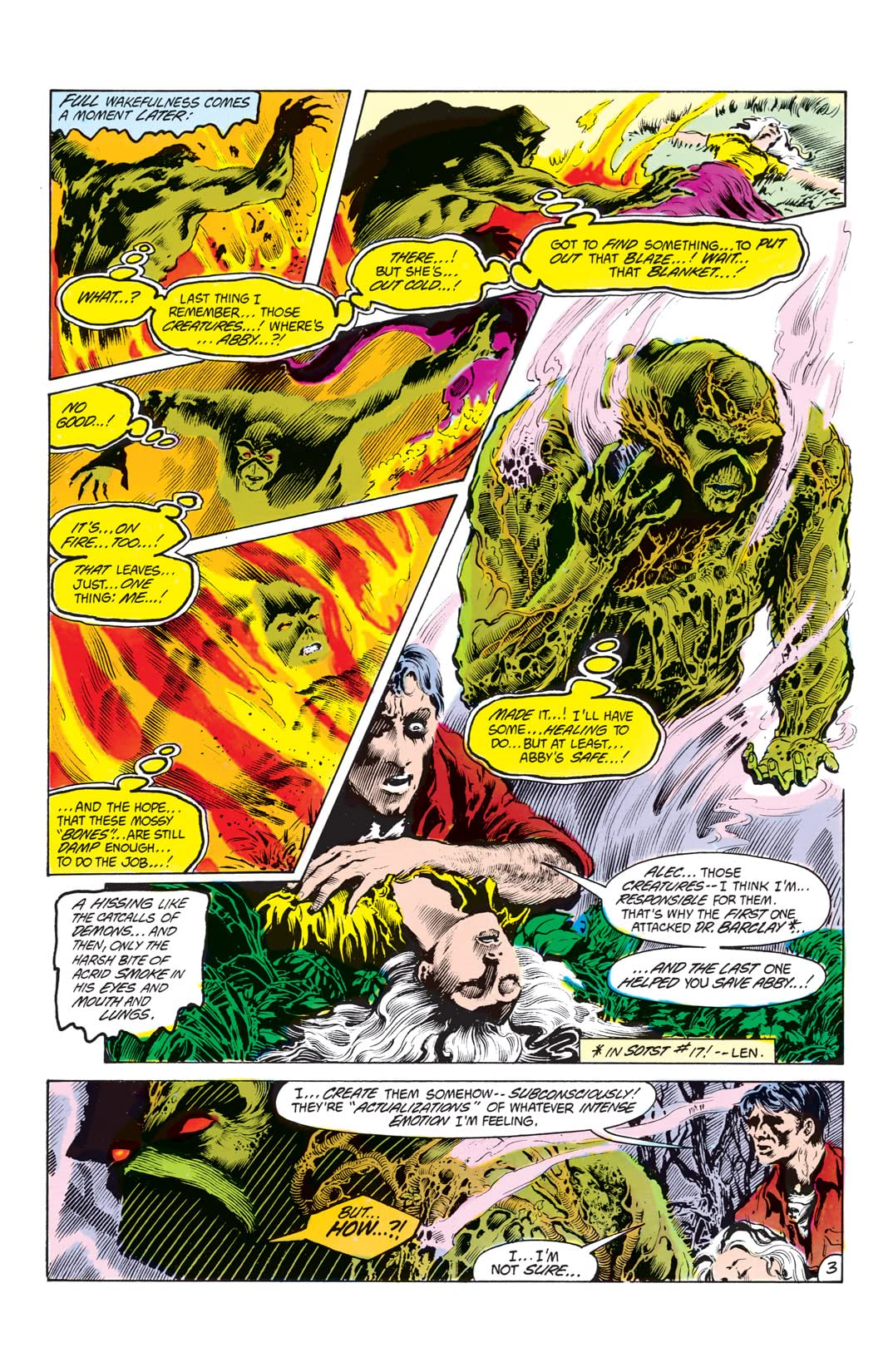 The Saga of the Swamp Thing (1982-1996) #19