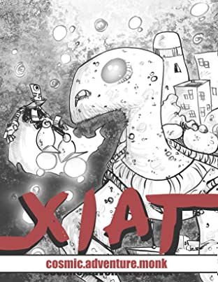 Xiat #1: Cosmic Adventure Monk
