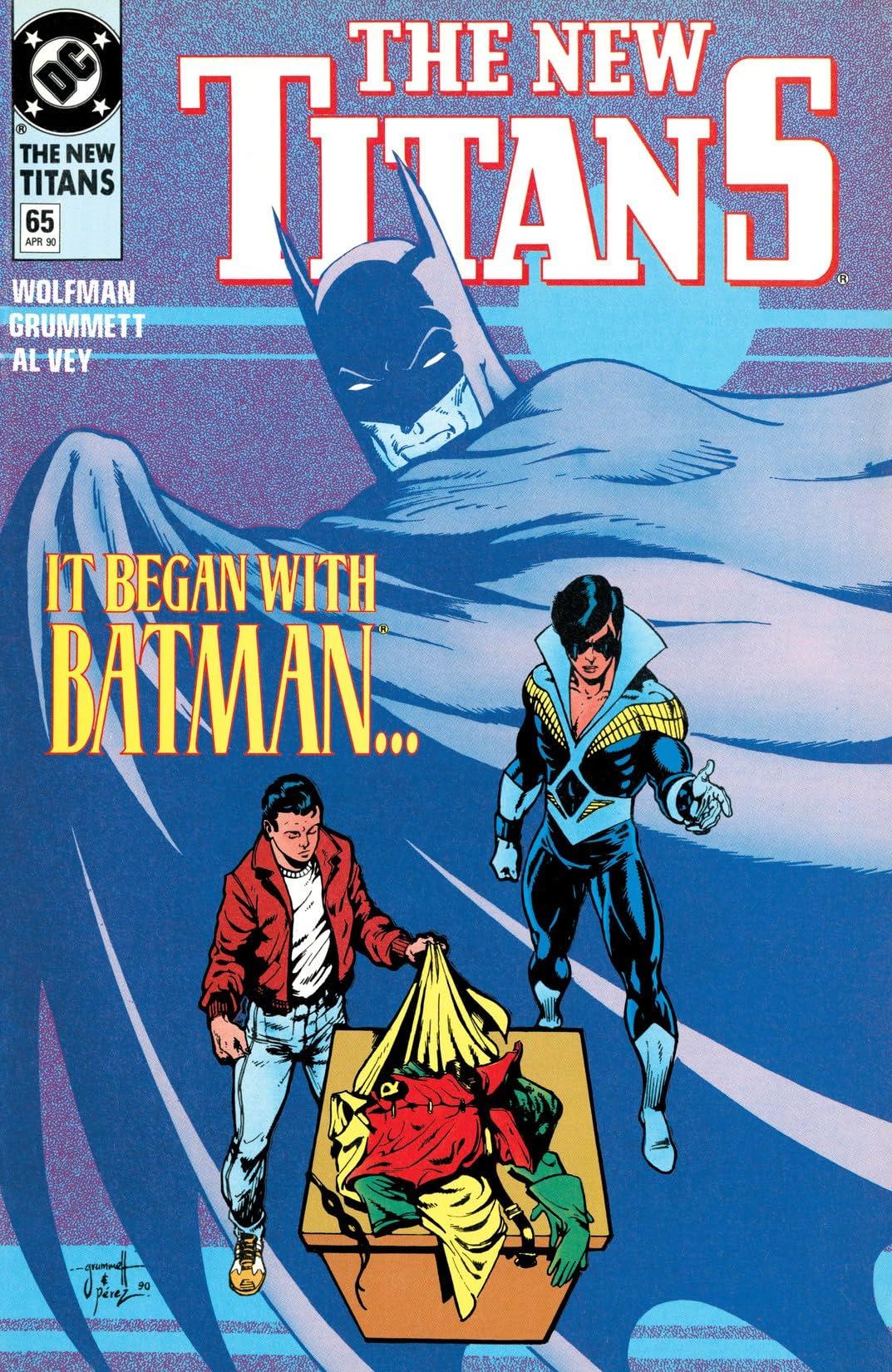 The New Titans (1984-1996) #65