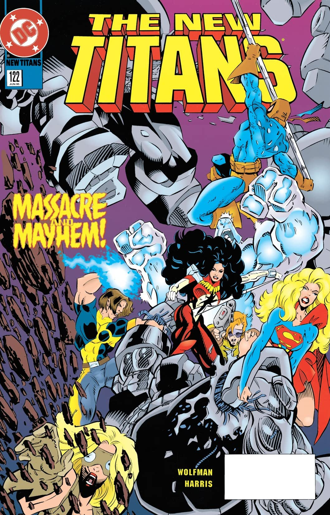 The New Titans (1984-1996) #122