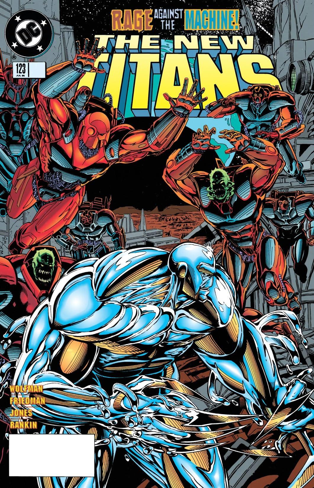 The New Titans (1984-1996) #123