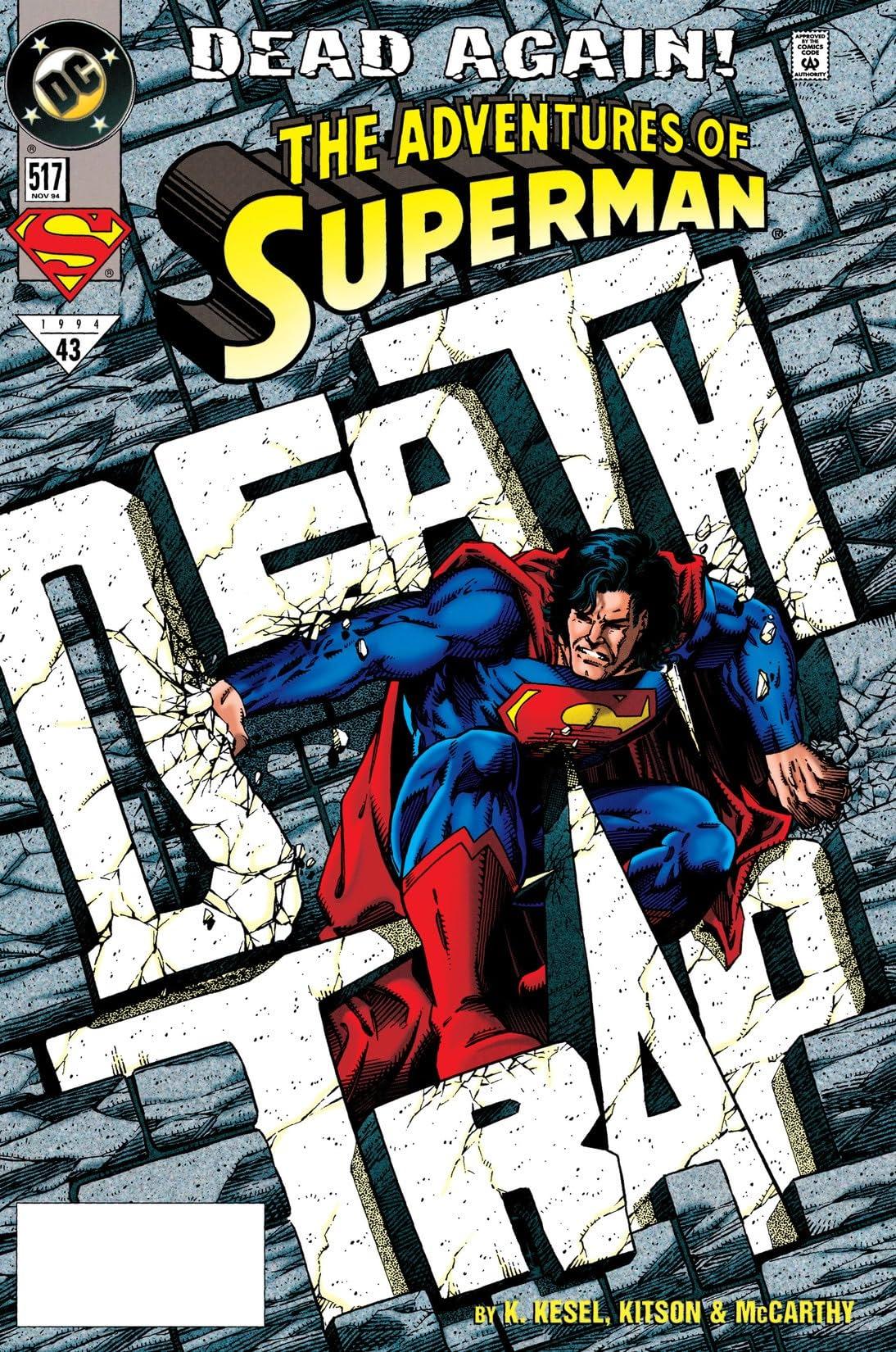 Adventures of Superman (1986-2006) #517