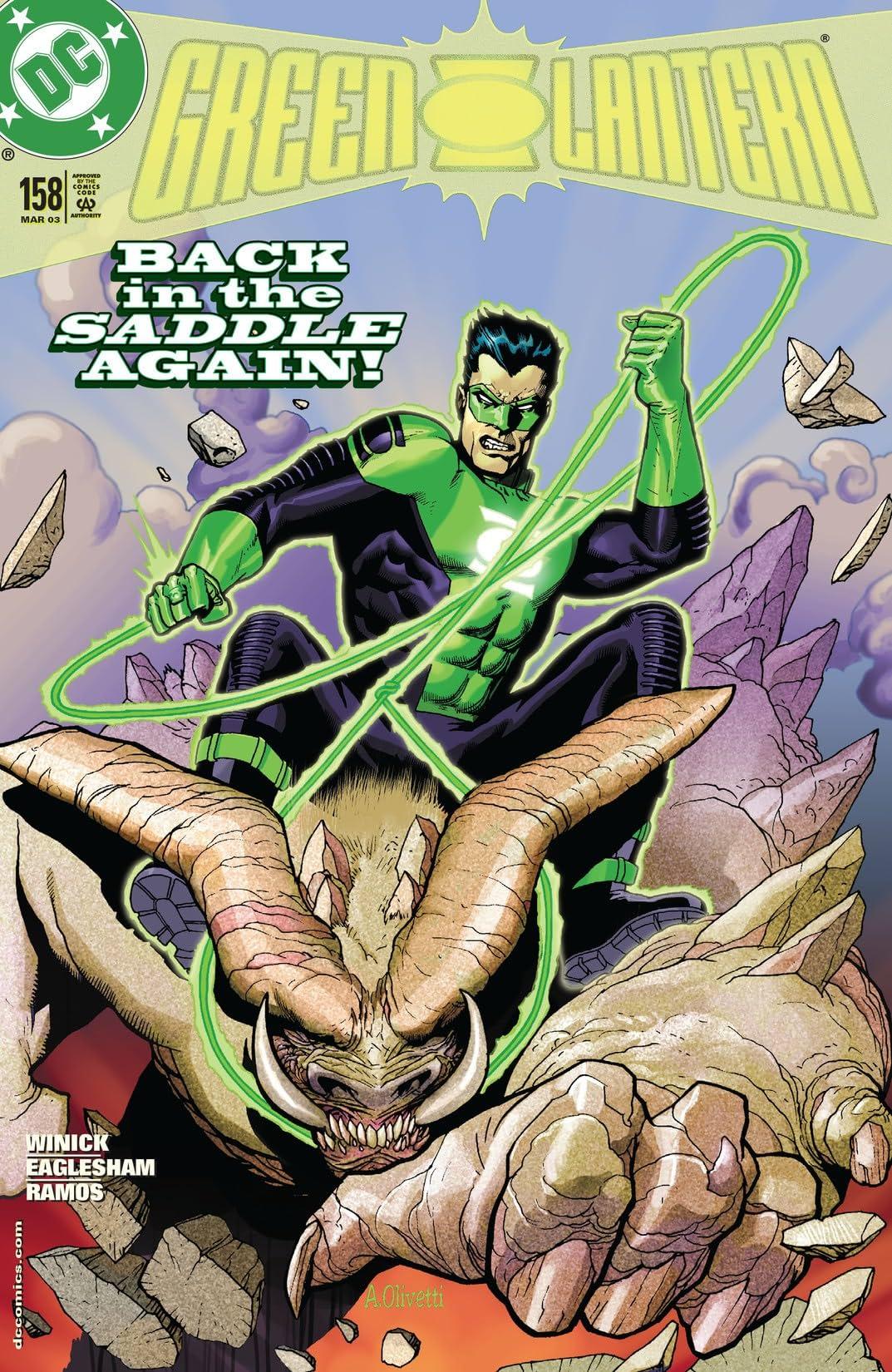 Green Lantern (1990-2004) #158