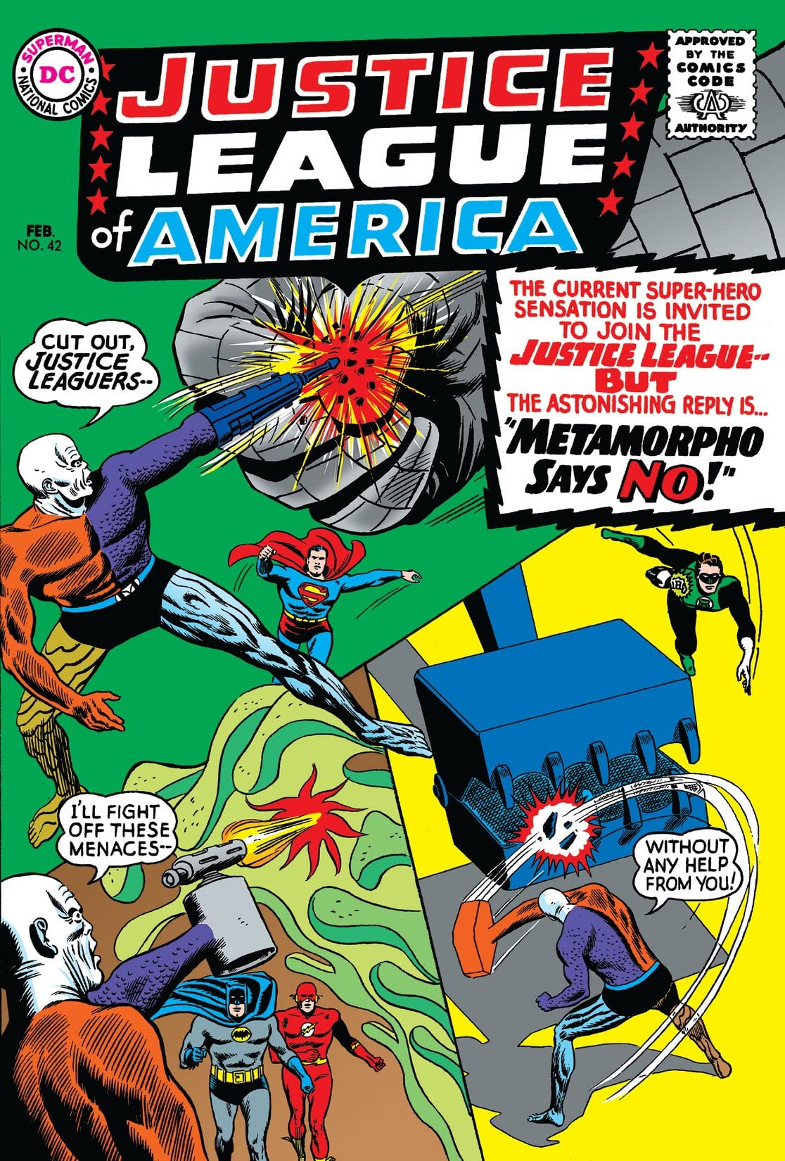 Justice League of America (1960-1987) #42