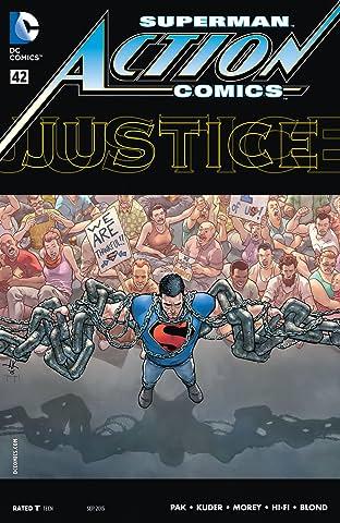 Action Comics (2011-2016) #42