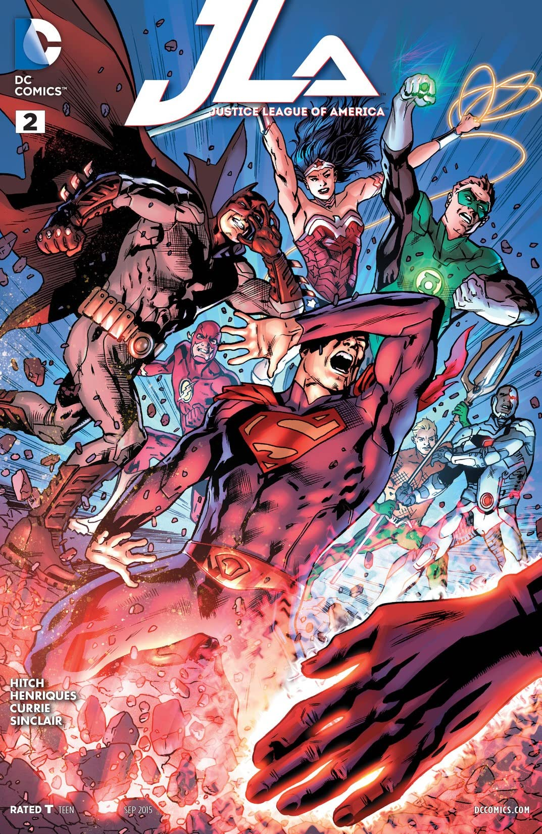 Justice League of America (2015-2016) #2