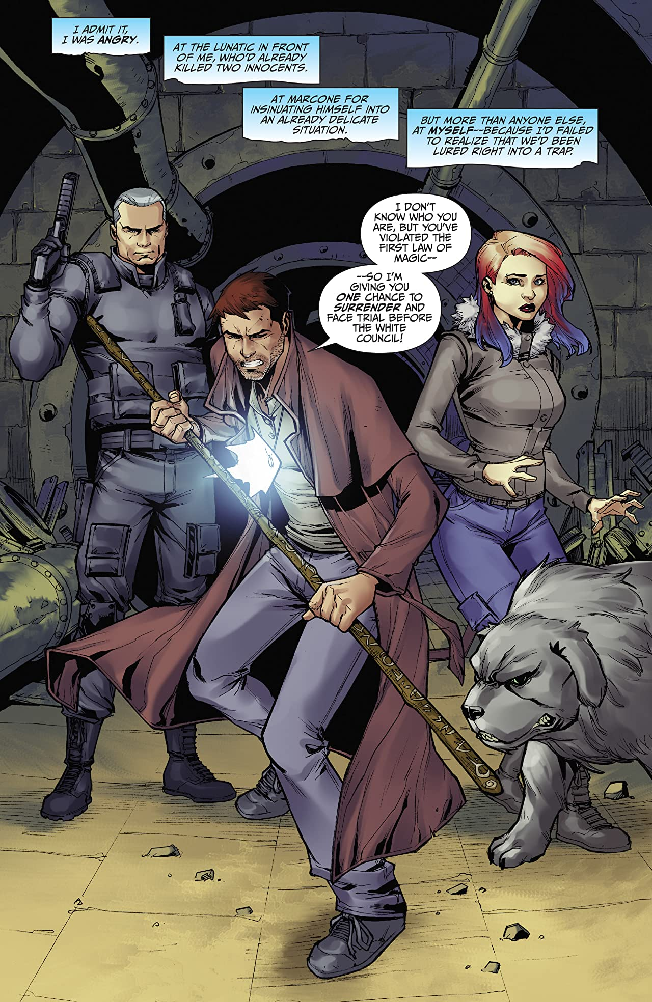 Jim Butcher's The Dresden Files: Down Town #5 (of 6): Digital Exclusive Edition