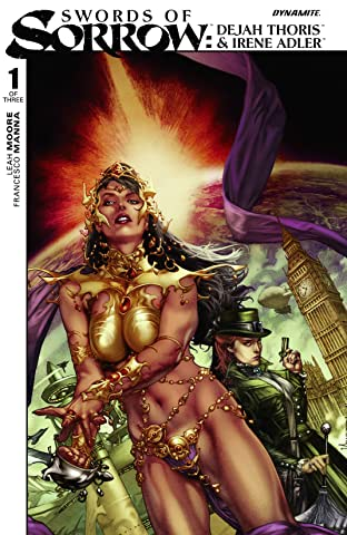 Swords of Sorrow: Dejah Thoris & Irene Adler #1 (of 3): Digital Exclusive Edition