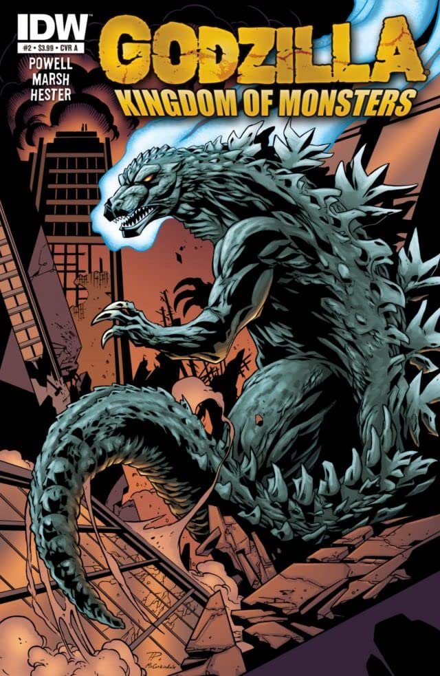 Godzilla: Kingdom of Monsters #2