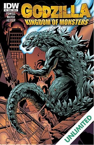 Godzilla: Kingdom of Monsters #2