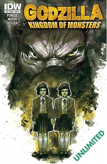 Godzilla: Kingdom of Monsters #3