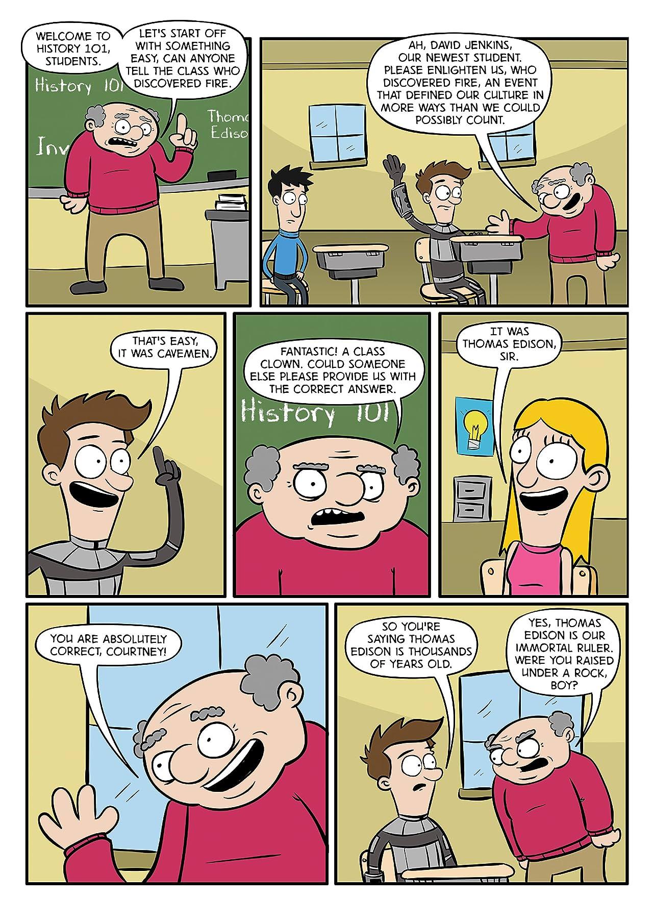 Teenage Paradox #3