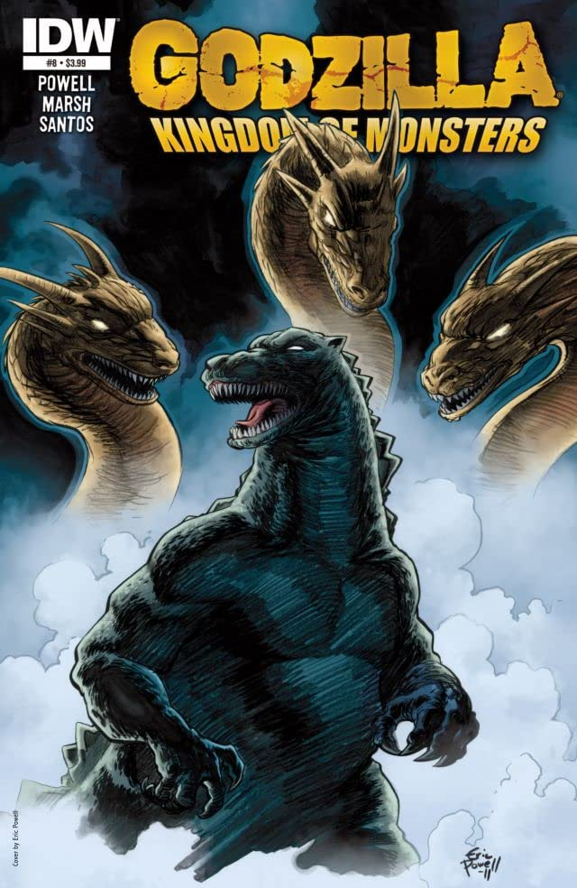 Godzilla: Kingdom of Monsters #8