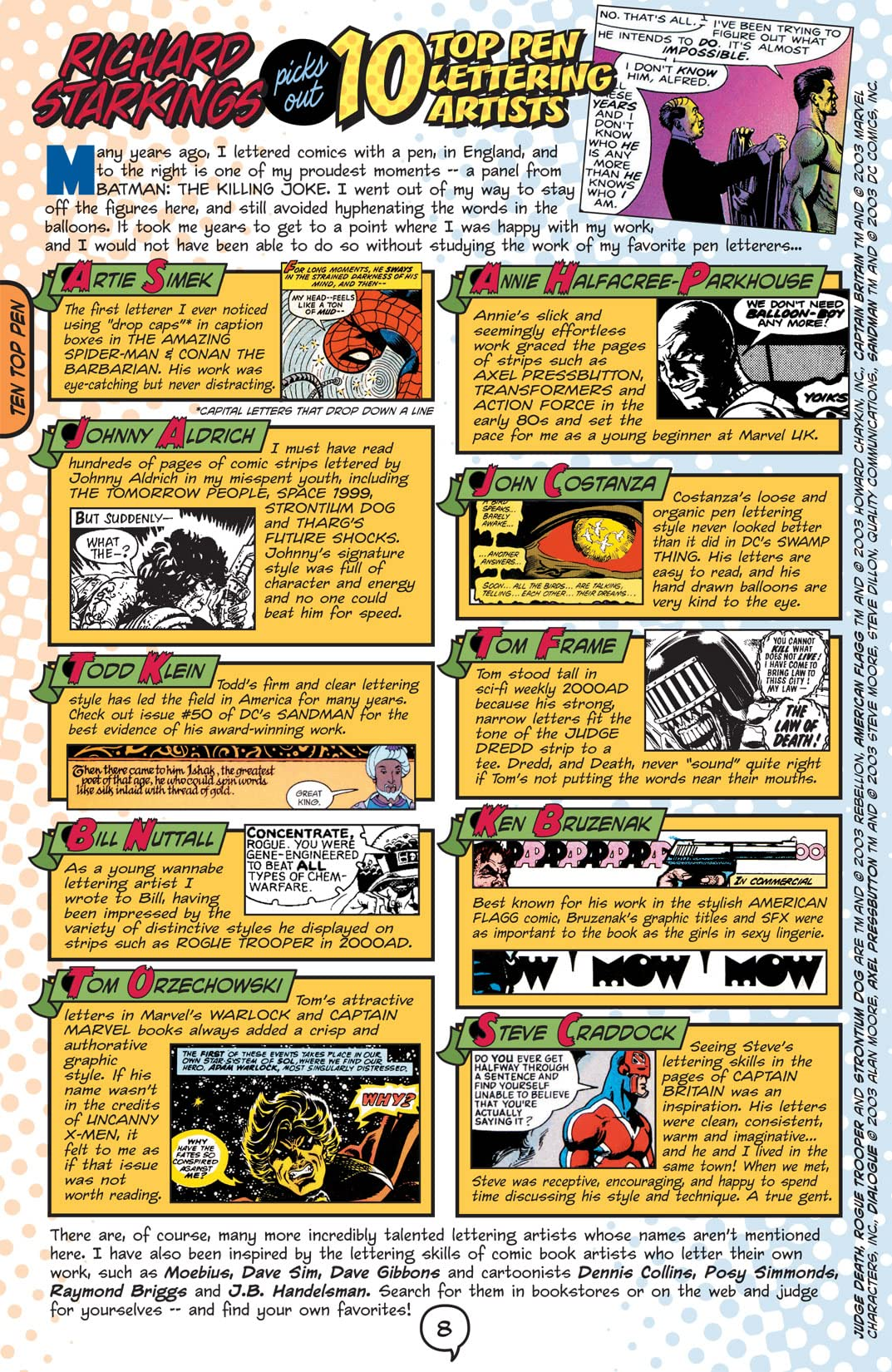 Comic Book Lettering The Comicraft Way
