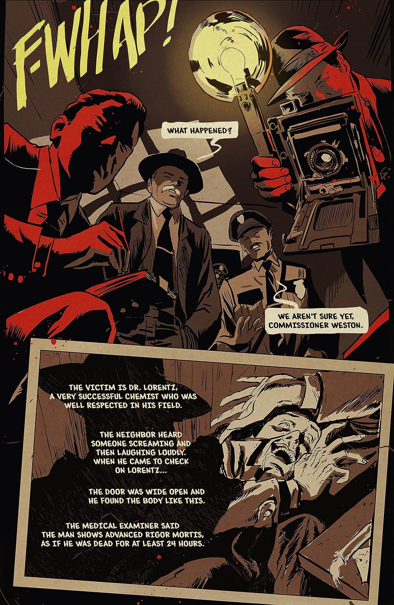 The Shadow #100: Digital Exclusive Edition
