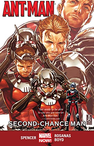Ant-Man Tome 1: Second-Chance Man