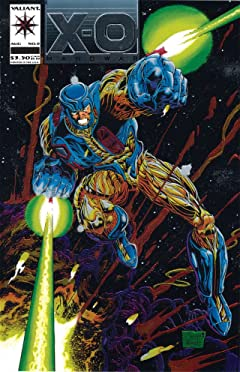 X-O Manowar (1992-1996) No.0