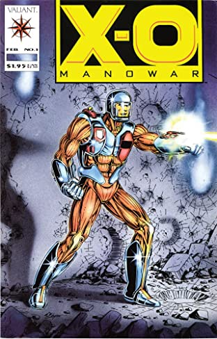 X-O Manowar (1992-1996) No.1
